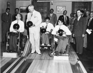 Truman on lanes with BVL veterans - the winners