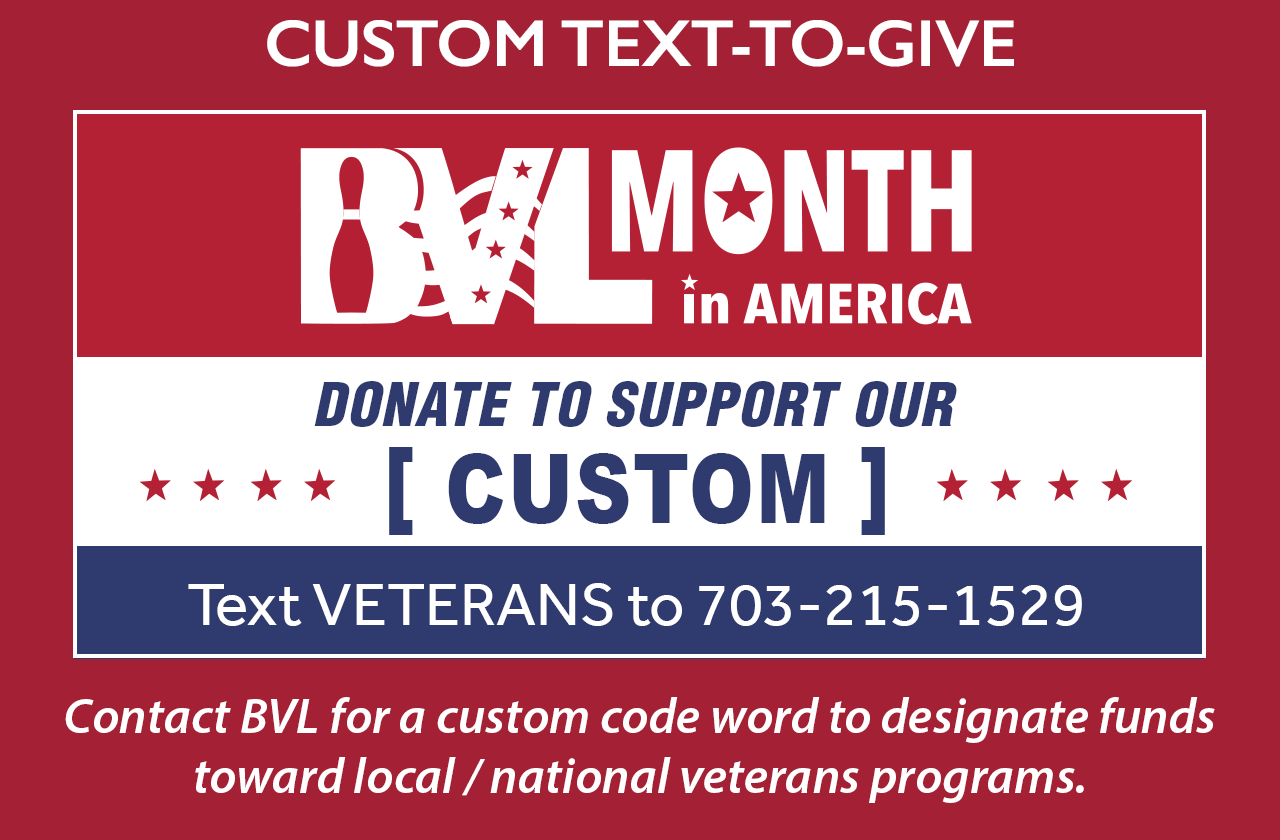 Please contact Mary@BVL.org to order your free custom TEXT TO GIVE graphic for your scoring monitor.