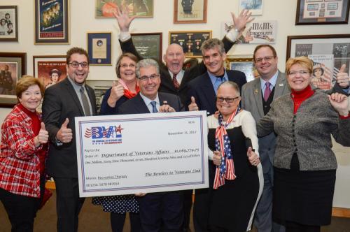 BVL Leadership Celebrates Breaking the Million Dollar Mark