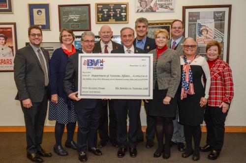BVL Representatives Meet with VA Secretary Shulkin at Veterans Day Celebration