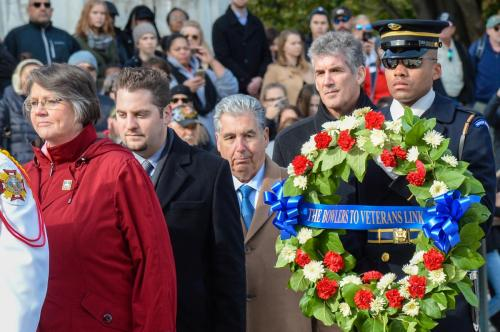 Wreath Laying at the Tomb of the Unknowns